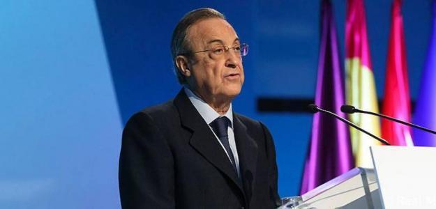 Florentino Pérez, en un acto del Real Madrid / RMCF.