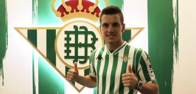Giovani Lo Celso, tras su llegada al Betis / realbetisbalompie.es.