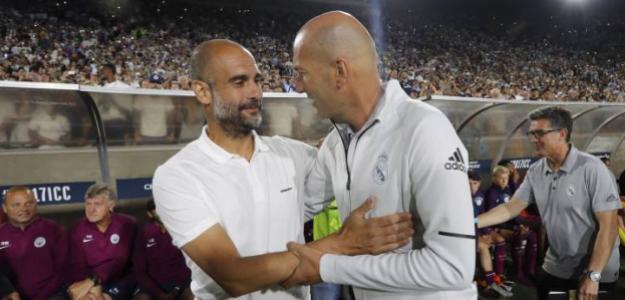 Guardiola elogia a Zidane antes de enfrentarse