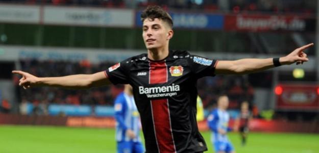 El Leverkusen le pone precio a Kai Havertz. Foto: Getty