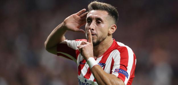 Héctor Herrera se defiende de la falta de minutos en el Atlético