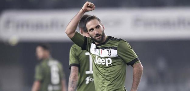 Gonzalo Higuaín, cerca de seguir en la Juventus de Turín / Juventus de Turín