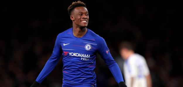Hudson-Odoi está llamado a liderar el Chelsea junto al nuevo fichaje londinense / UEFA