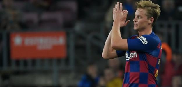 """La importancia táctica de Frenkie de Jong en el esquema de Valverde """"Foto: FCB Noicias"""""""