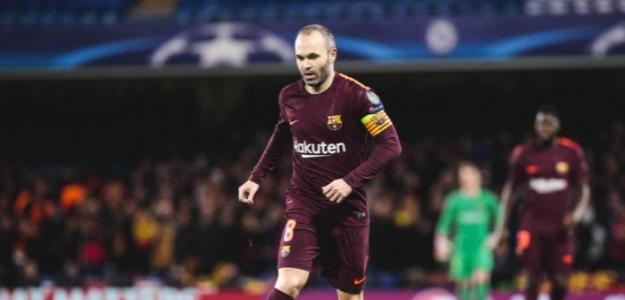 Iniesta se deja querer como futuro entrenador del Barcelona