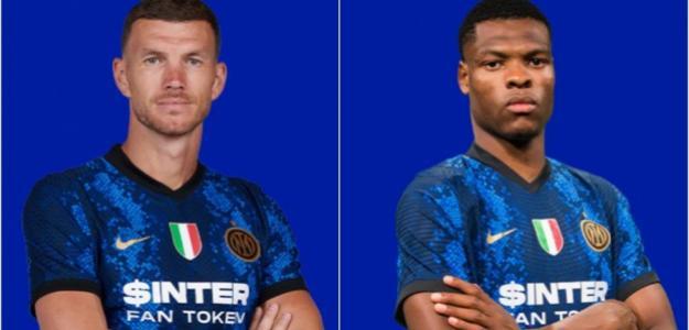 OFICIAL: El Inter de Milán cierra los fichajes de Dumfries y Dzeko