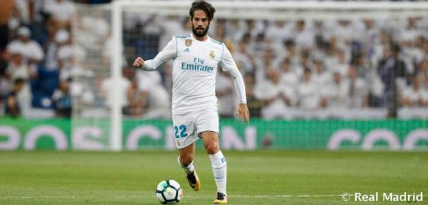 Isco Alarcón en un partido con el Real Madrid / Real Madrid