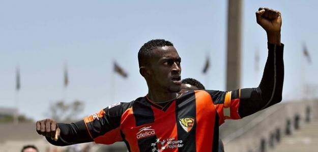 Jackson Martínez, delantero de Jaguares