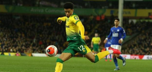 Jamal Lewis entra en la órbita de un grande de la Premier League | FOTO: NORWICH