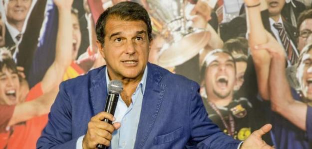 Joan Laporta va sobrado, no promete grandes cambios para el Barcelona / Cadenaser.com