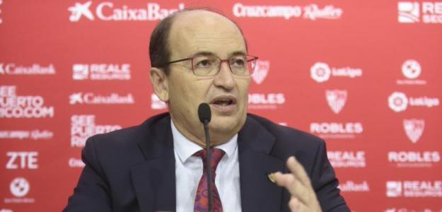 José Castro, presidente del Sevilla. Foto: Sevillafc.es
