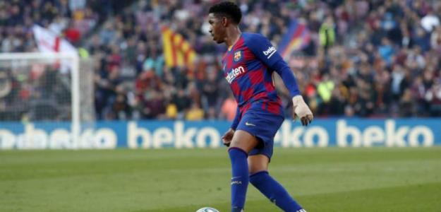 Júnior Firpo a un paso de salir del Barcelona | FOTO: FC BARCELONA