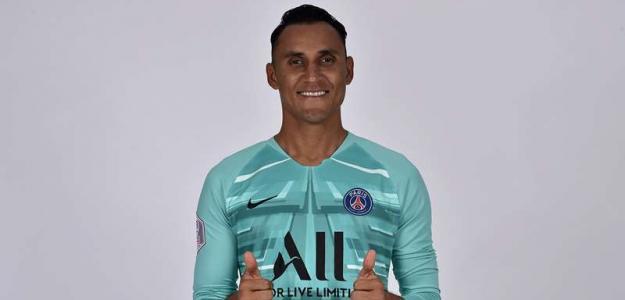 Keylor Navas vuelve a sacarle los colores a Florentino Pérez / PSG.fr