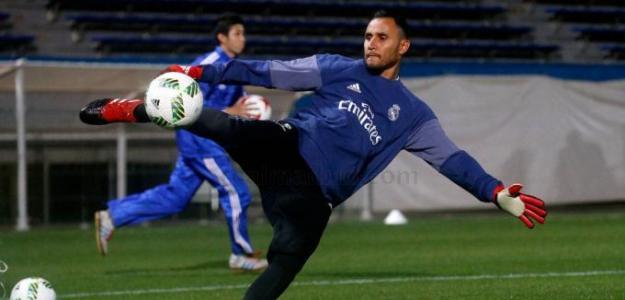 Keylor, con el Real Madrid / Twitter