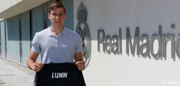 La continuidad de Lunin en el Real Madrid a escena / RealMadrid.com