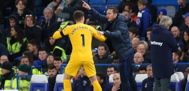 Lampard no tiene piedad con Kepa / Football365.com