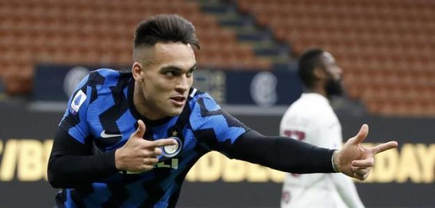Lautaro se alía con Jorge Mendes para salir del Inter. Foto: bola.okezone.com