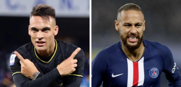 Quique Setién responde la principal incógnita: ¿Neymar o Lautaro Martínez? | FOTO: CULÉMANIA