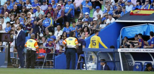 Lenglet no podrá jugar contra el Sevilla. Foto: MD