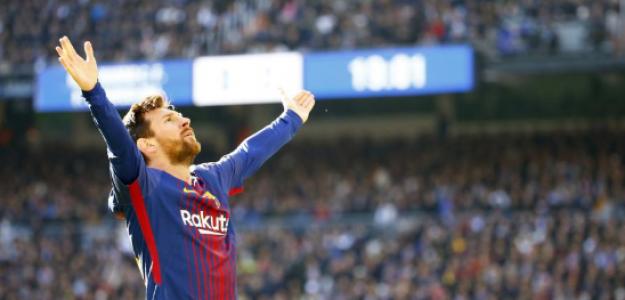 """¿Leo Messi se esconde ante los grandes? """"Foto: Mundo Deportivo"""""""