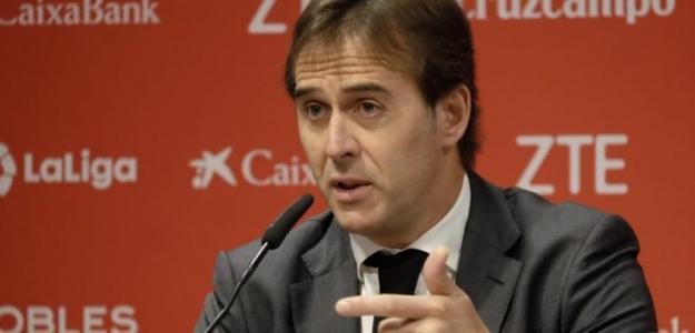 El dilema de Julen Lopetegui en la punta de ataque / Sevilla FC
