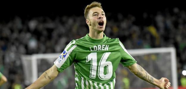 Loren a un paso de abandonar el Real Betis. Foto: Estadio Deportivo