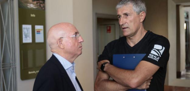 Lorenzo Serra Ferrer y Quique Setién / Diario de Sevilla