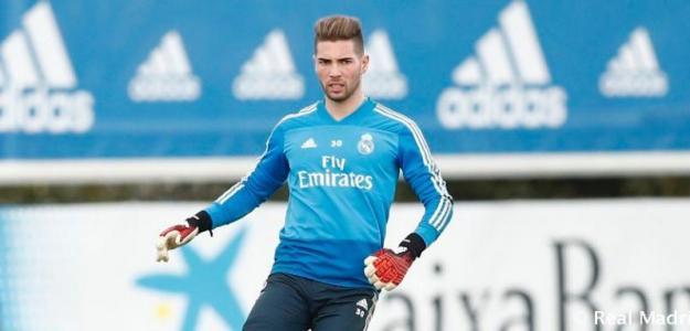 Luca Zidane sale del Real Madrid / RealMadrid.com