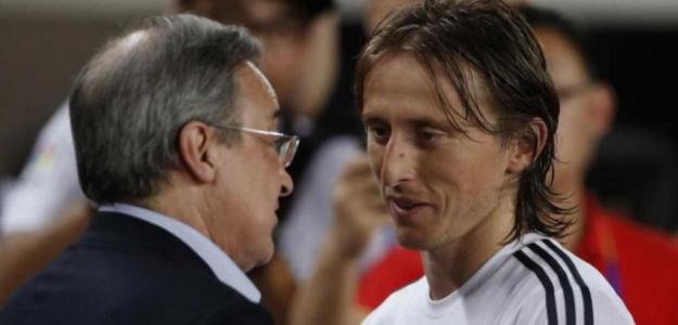 Principio de acuerdo para la renovación de Modric. Foto: culemania.com