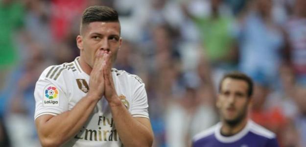 El mensaje de Luka Jovic a Zidane por sus minutos en el Madrid
