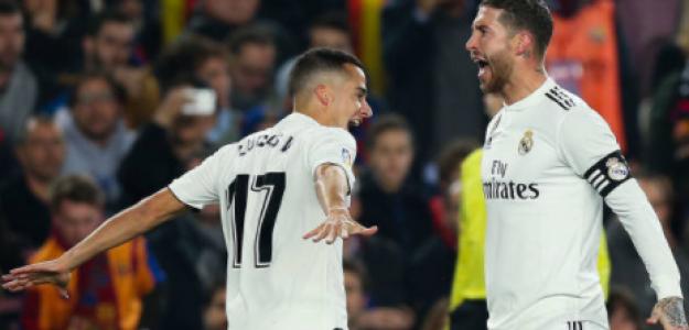 """""""Lucas Vázquez y Sergio Ramos, renovación en camino./ Foto: Getty Images"""""""