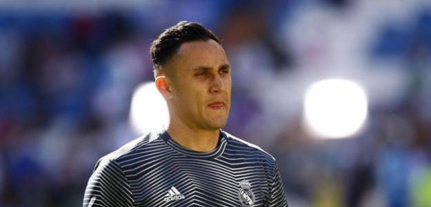 Keylor en un partido con el Madrid / eurosport.co.uk