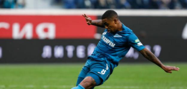 """""""Gol de Malcom… ¡Casi un año después! Foto: Getty Images"""""""