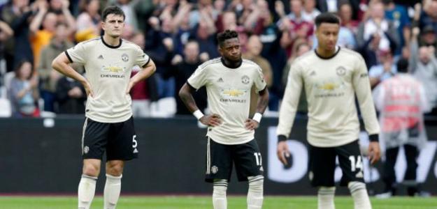 Los jugadores del Manchester United durante un partido. / metro.co.uk
