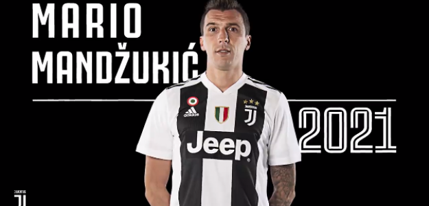Mandzukic, con la Juventus / twitter