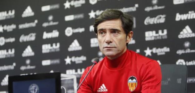 La emotiva despedida de Marcelino al Valencia