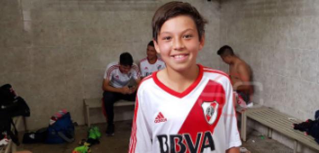 """En River Plate sueñan con el futuro del Muñequito Gallardo """"Foto: InfoBae"""""""