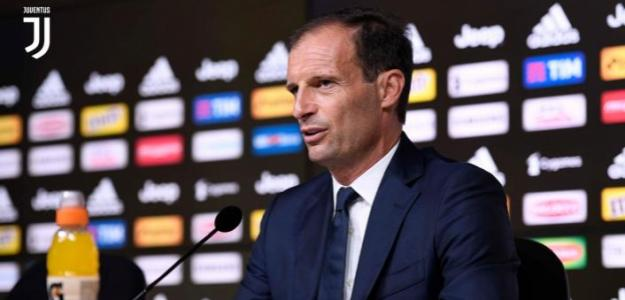 Massimiliano Allegri, técnico de la Juve. Foto: Juventus.com