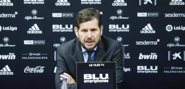 Mateu Alemany también aguarda su salida del Valencia / Valenciacf.com