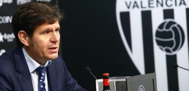 Mateu Alemany, en rueda de prensa. Foto: valenciacf.com.