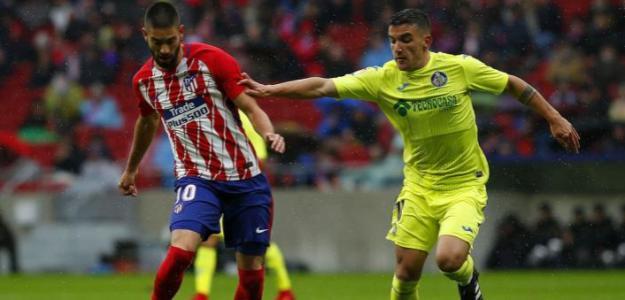 Mauro Arambarri, el jugador nacido para jugar en el Atlético de Simeone. Foto: Zimbio