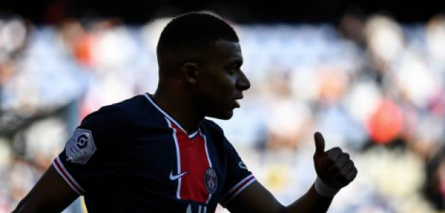 """""""La decisión que deberá tomar el PSG con Kylian Mbappé. Foto: Getty Images"""""""