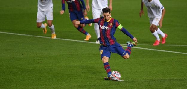Los récords que rompió Lionel Messi con su gol ante el Ferencvaros