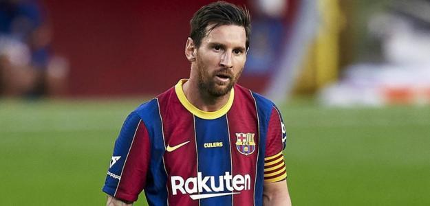 Messi: todo felicidad en el Barça
