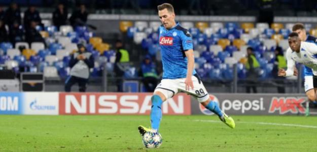 La Premier League sigue de cerca a Arkadiusz Milik   FOTO: NAPOLI
