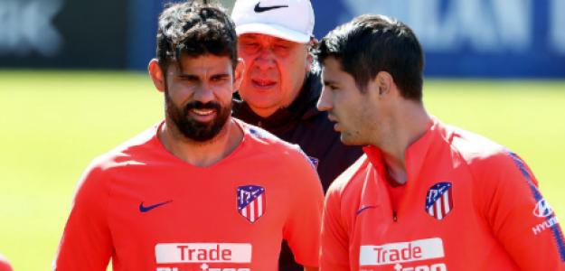 """Debate en el Atlético: ¿Diego Costa o Álvaro Morata para la Champions? """"Foto: Marca"""""""
