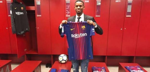 Semedo, el día de su fichaje (FC Barcelona)