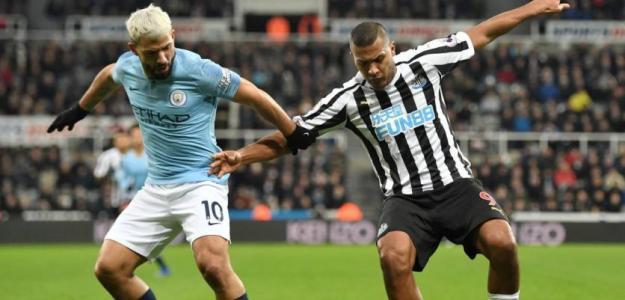 """El Newcastle quiere """"pescar"""" en el City. Foto: Getty"""