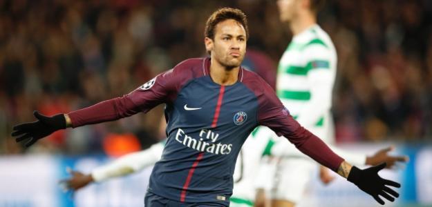 Neymar con la camiseta del PSG / tsn.ca