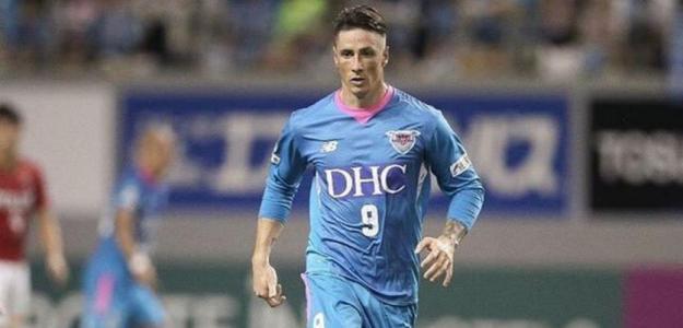 Torres en un partido con el Sagan Tosu / elespanol.com